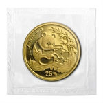 1994 (1/4 oz) Gold Chinese Pandas - Large Date (Sealed)